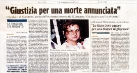 Marianna Manduca -Giustizia per una morte annunciata - Studio Legale Galasso