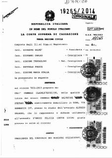 Sentenza Caso Marianna Manduca - Studio Legale Galasso