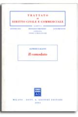 Trattato di Diritto Civile e Commerciale Il Comodato
