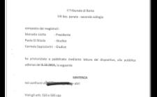 Significativa sentenza del Tribunale penale di Roma, che oggi 8 ottobre 2015 ha condannato a pene severe gli imputati e riconosciuto alla parte civile Associazione Caponnetto, difesa dall'avv. Licia D'Amico, un congruo risarcimento del danno.