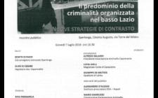 """Associazione Caponnetto convegno a Sperlonga del 7 luglio 2016  """"La riviera dei boss"""""""