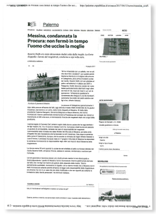 Articolo di La Repubblica del 13/06/2017