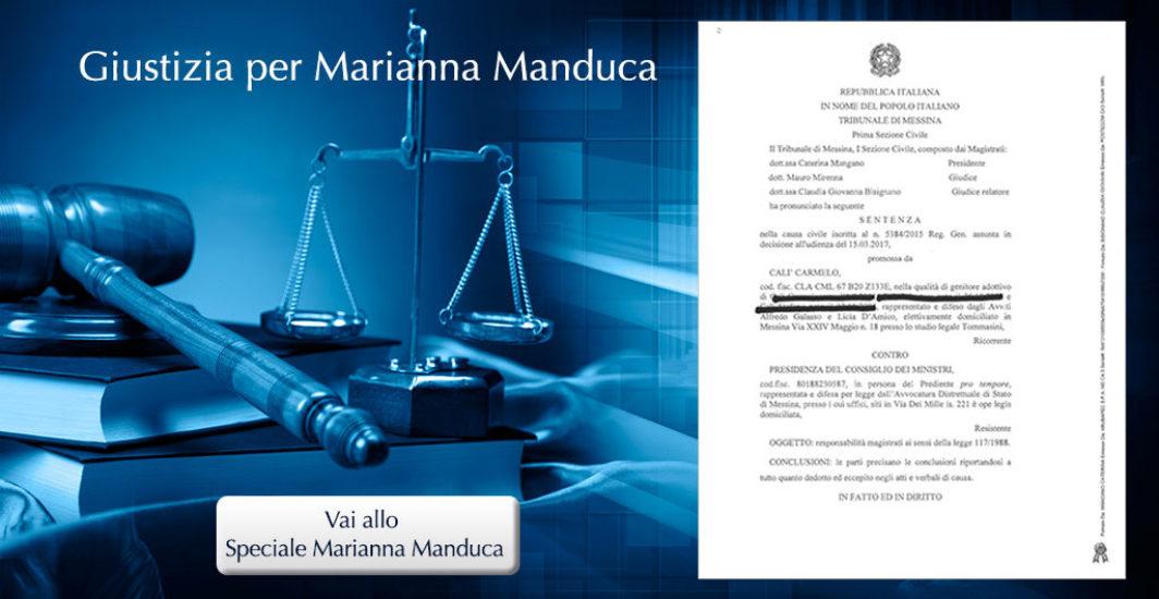 Giustizia per Marianna Manduca