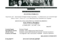 Locandina Convegno Codice antimafia Mafiosi e corrotti insieme?