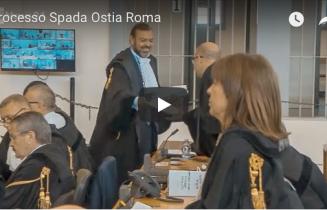 Il processo per la testata al giornalista Piervincenzi e le percosse al cameraman Anselmi. L'avv. Licia D'Amico parte civile per l'Associazione Caponnetto.