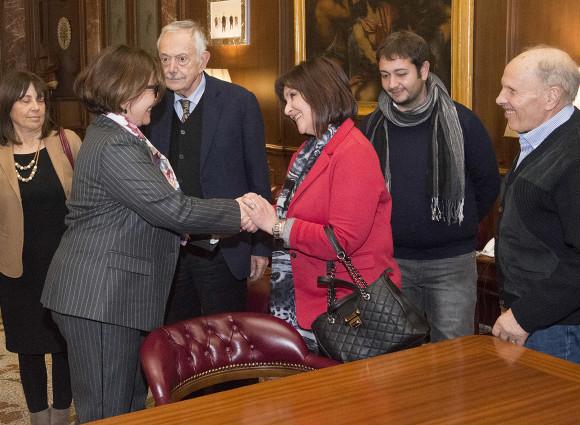 Davide Cervia - Consegna euro Ministra Trenta-2