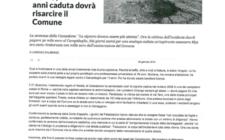 Articolo Repubblica su buche di Roma