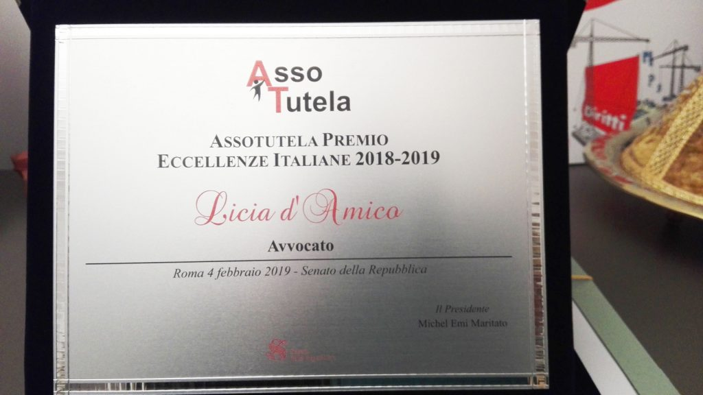 Premiazione-Assotutela-Licia-Damico