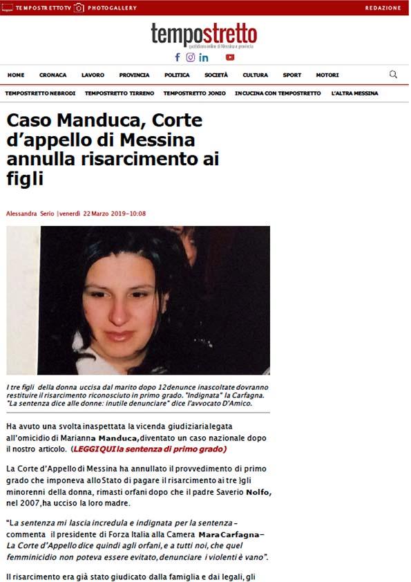 Articolo-Tempostretto-sentenza-Marianna-Manduca