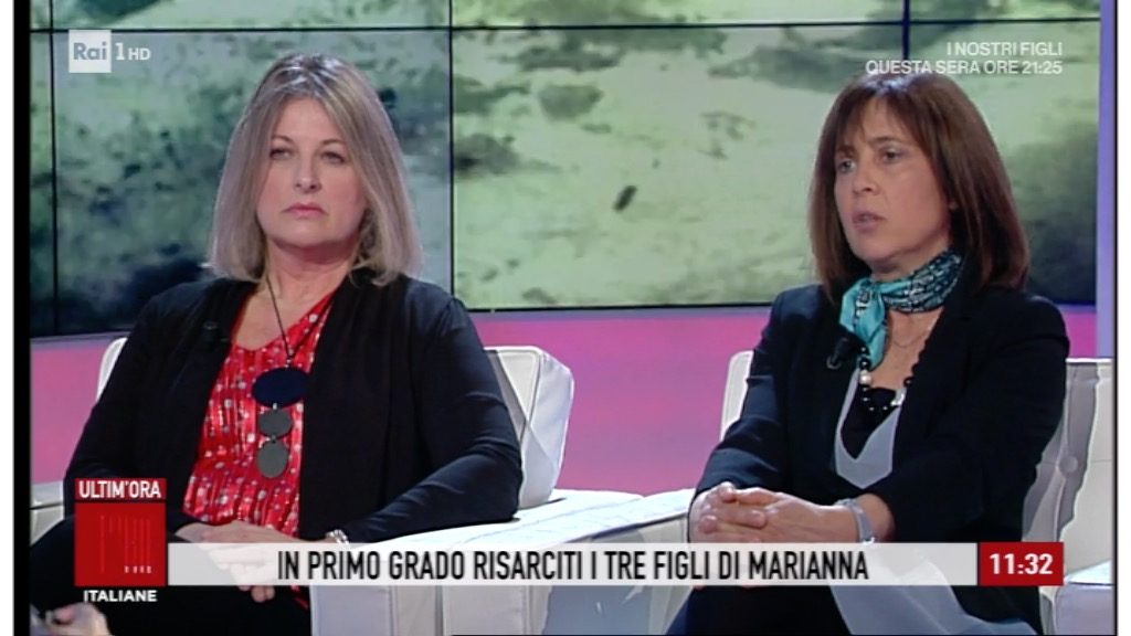 Licia D'Amico e Paola Giulianelli a Storie Italiane