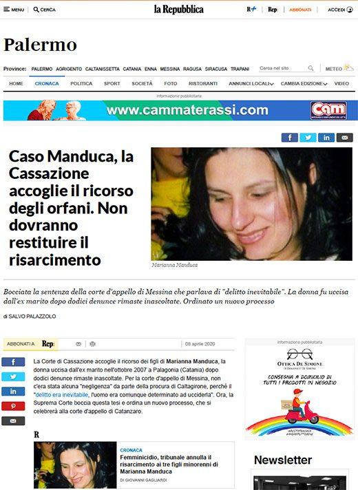 Articolo-Repubblica-Manduca
