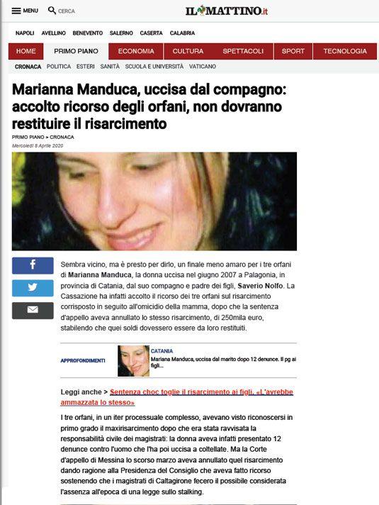 Il-Mattino-caso-Manduca