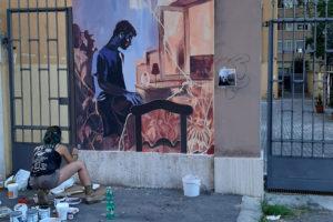 Foto murale Gara