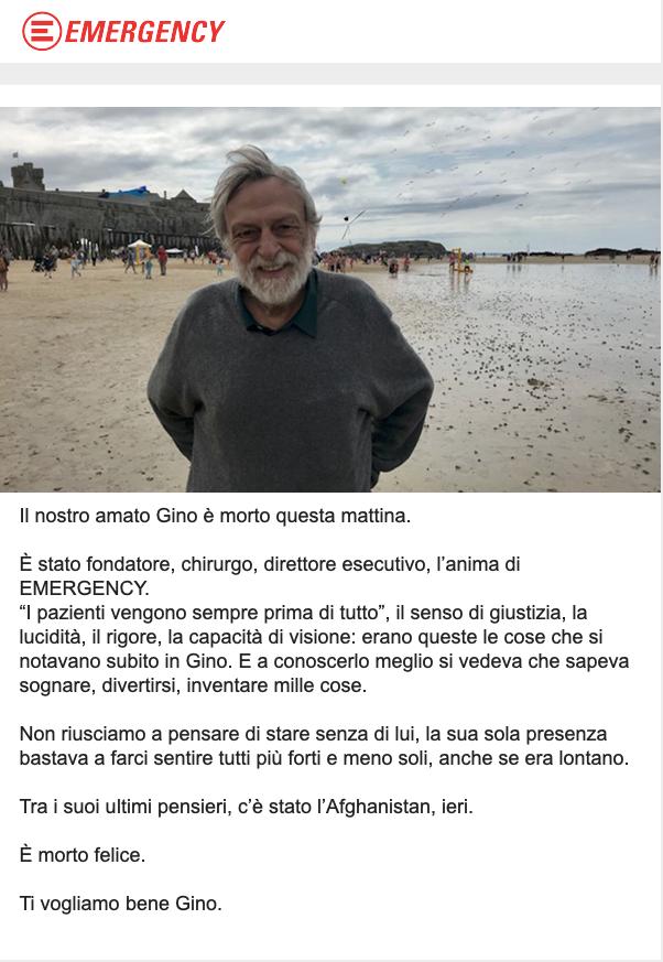 Gino Strada - Studio Legale Galasso